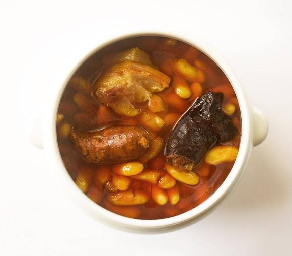 Fabada asturiana · Especialidad de la Casa